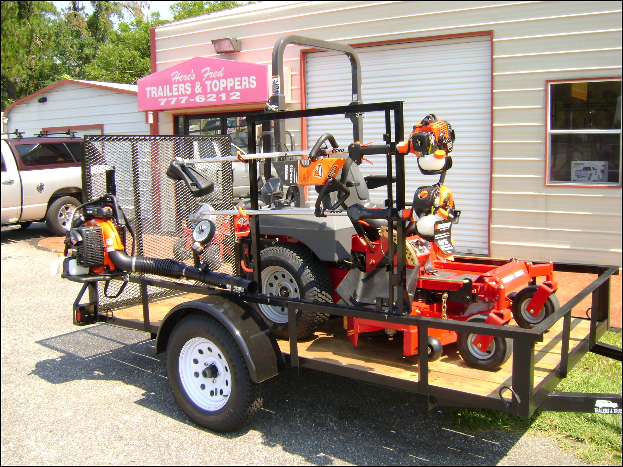 Trailer To Haul Lawn Mower