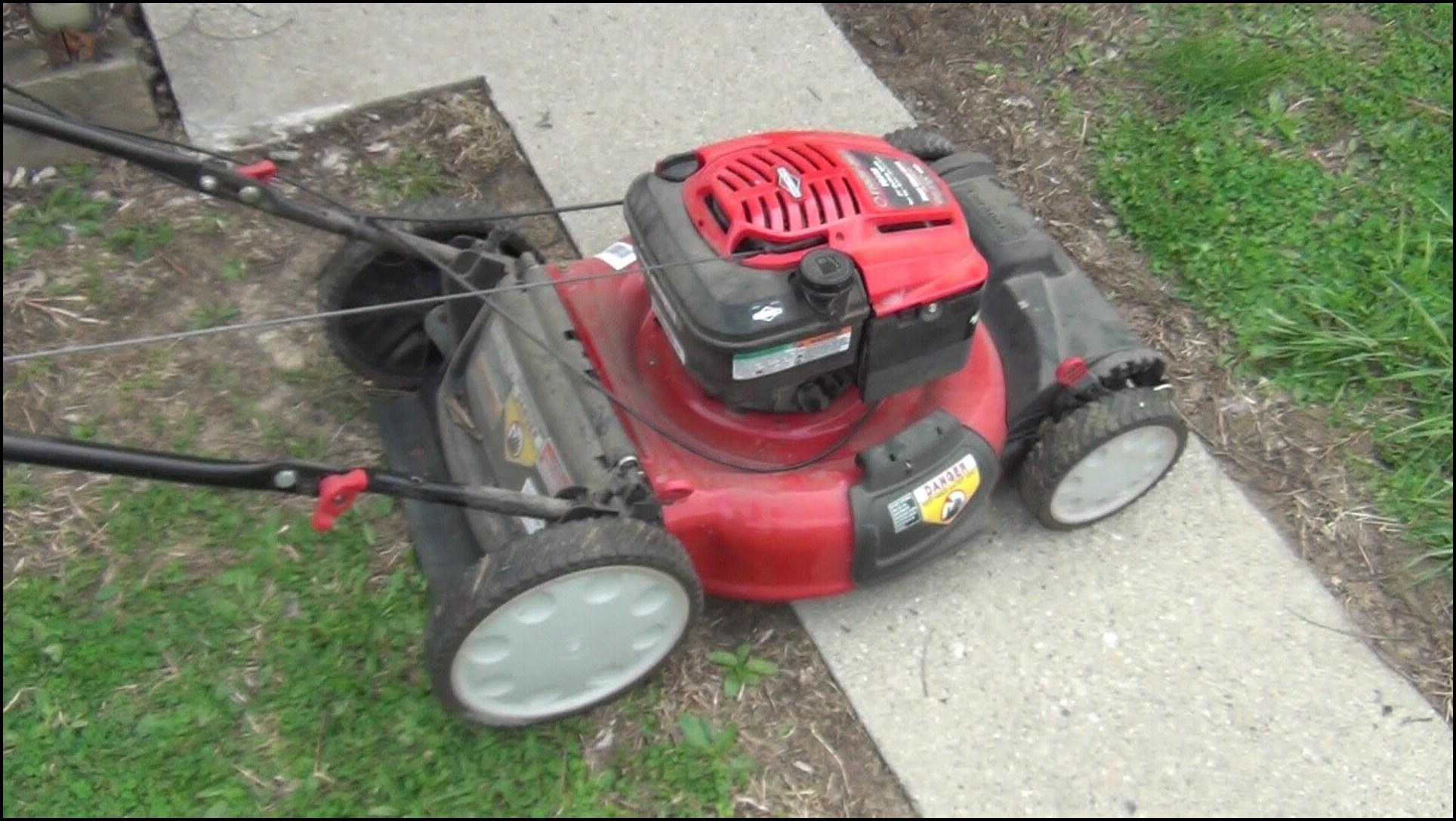 Troy Bilt Lawn Mower Troubleshooting