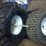 Used Lawn Mower Tires