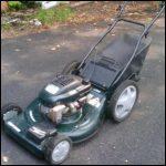 Used Self Propelled Lawn Mower