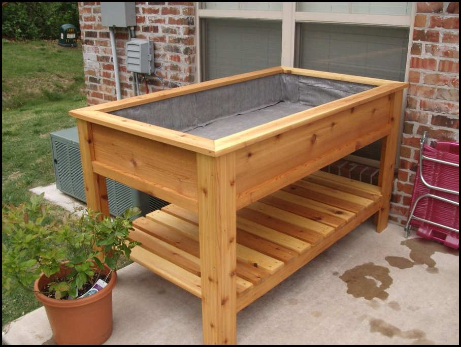 Vegetable Planter Box Plans