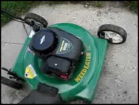 Weed Eater Lawn Mower Parts