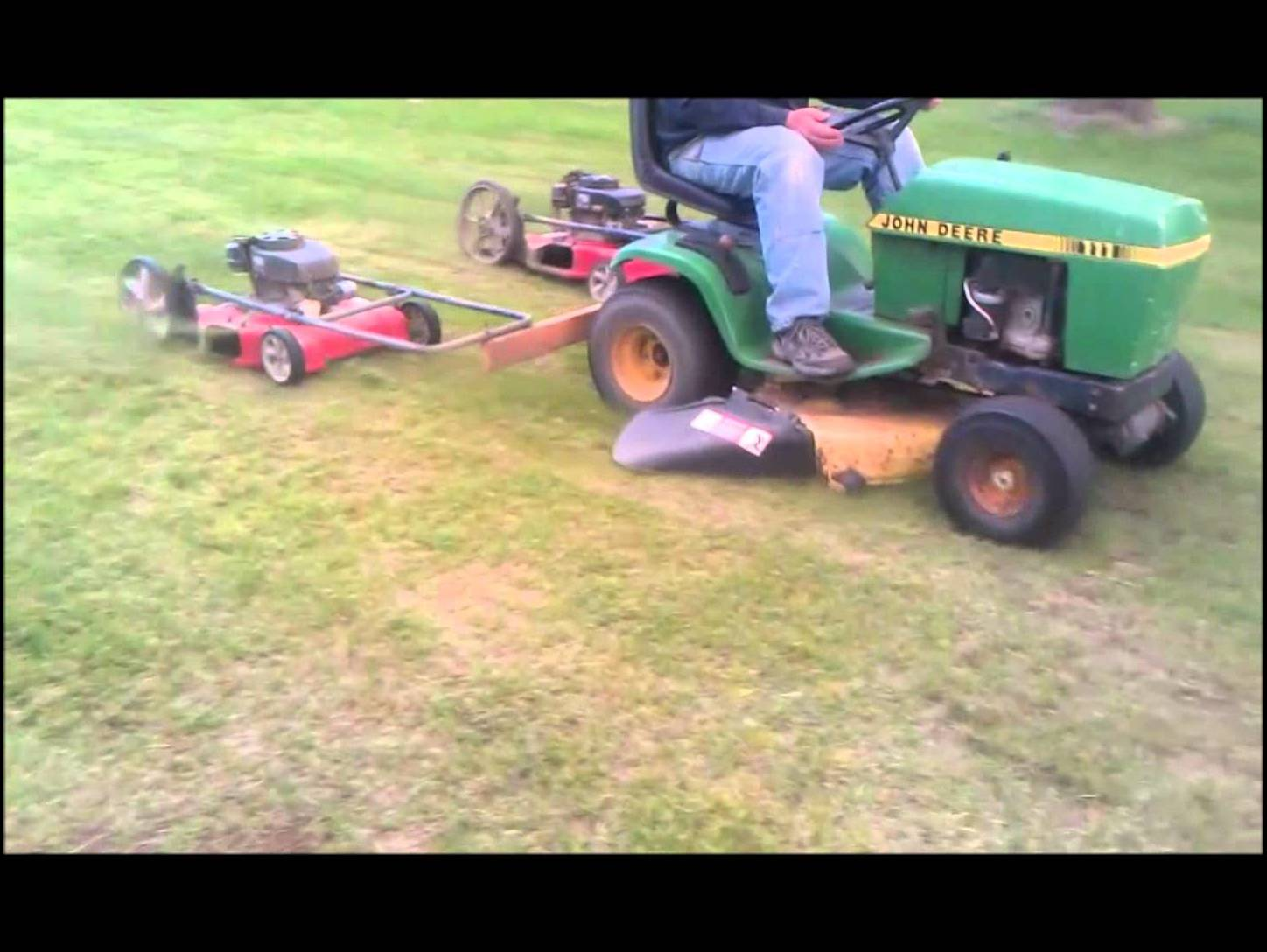 Wide Cut Lawn Mowers