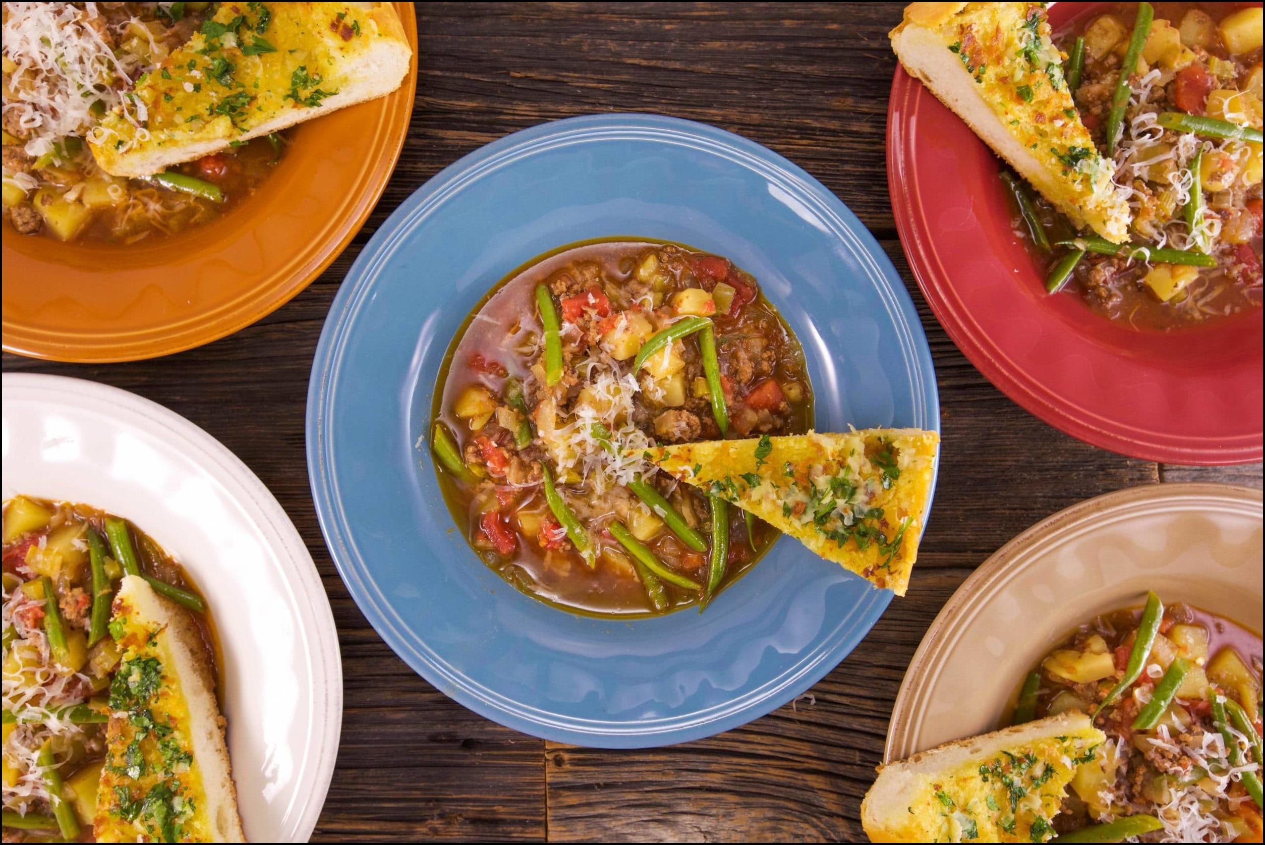 Beef Vegetable Soup Rachel Ray
