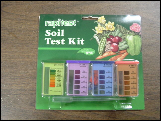 Home Soil Test Kit