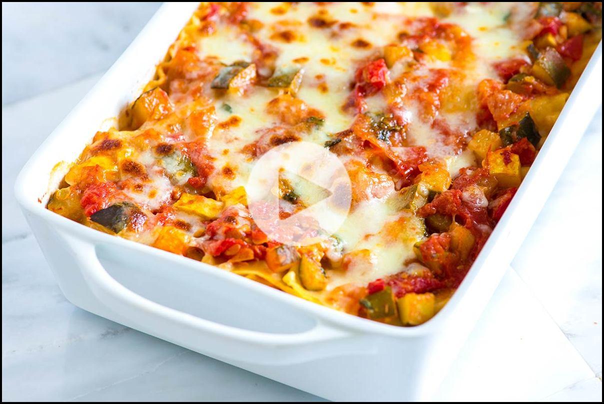 How To Make Vegetable Lasagna