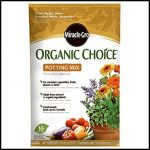 Miracle Gro Organic Potting Soil