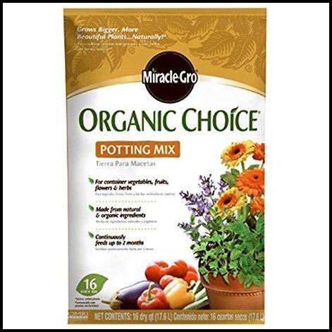 Miracle Gro Organic Potting Soil