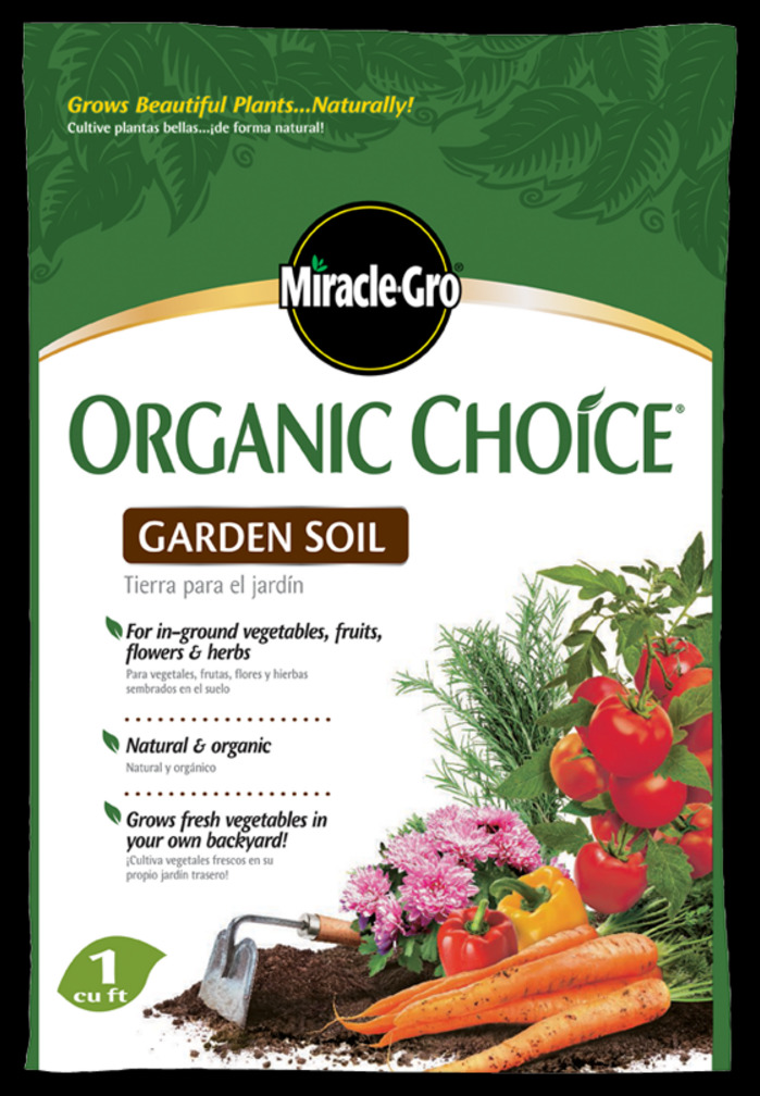 Miracle Grow Organic Soil