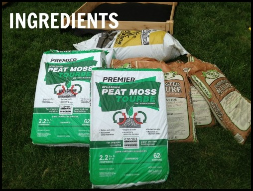 Vegetable Garden Soil Mix