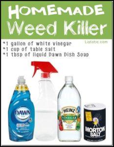 Weed Killer For Vegetable Garden