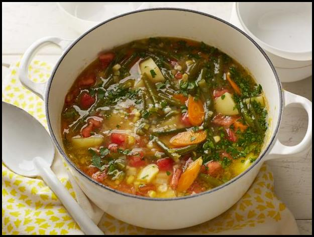 World's Best Vegetable Soup Recipe
