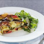 Baked Vegetable Frittata Recipe