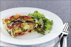 Baked Vegetable Frittata Recipe