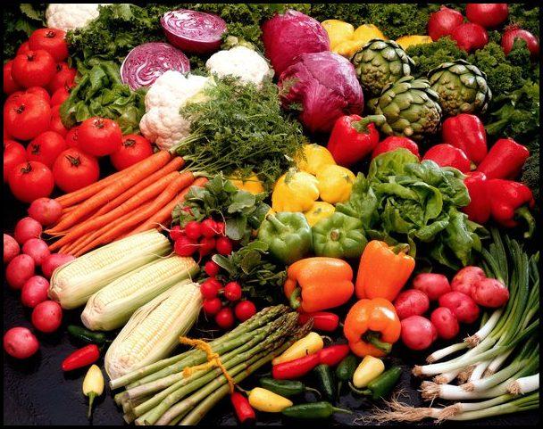 Different Kinds Of Vegetables