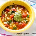 Garden Vegetable Soup Panera