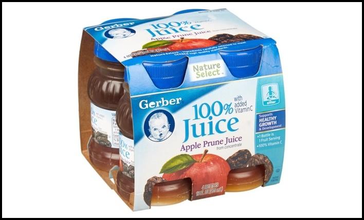 Gerber Apple Prune Juice