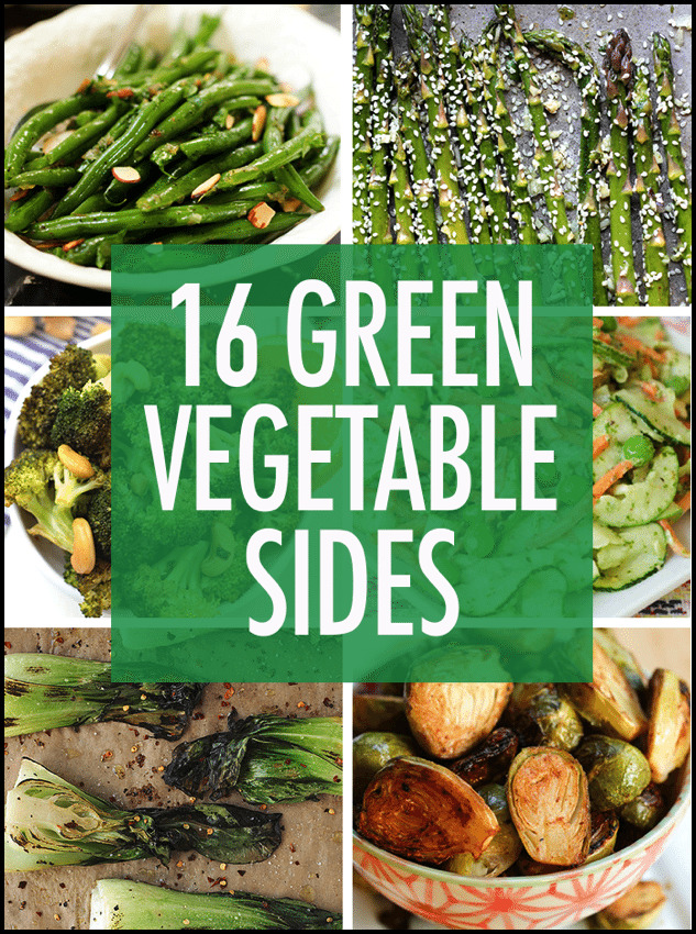 Green Vegetable Side Dishes