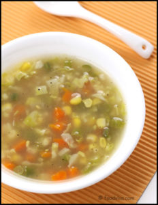 How To Make A Vegetable Soup