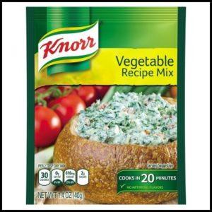 Knorr Vegetable Dip Recipe