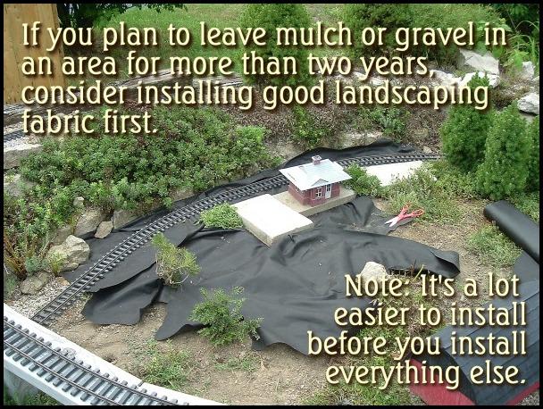 Landscape Fabric Under Mulch