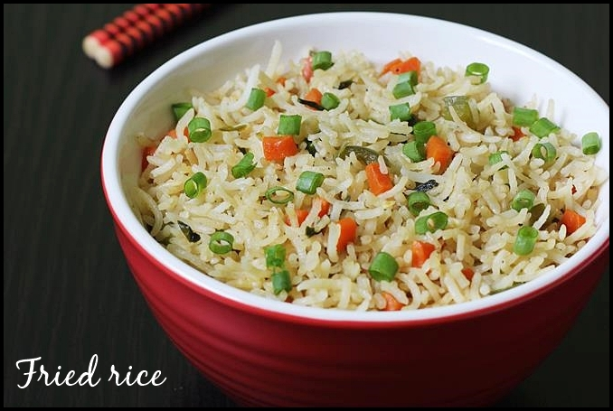 Recipe For Vegetable Fried Rice