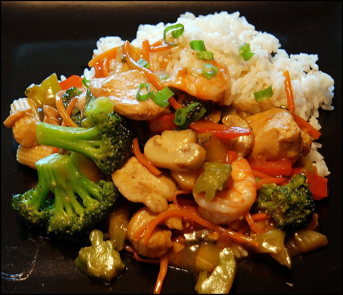 Shrimp Vegetable Stir Fry Recipe