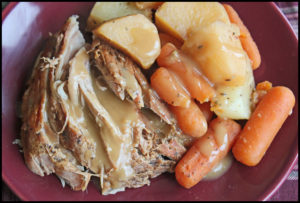 Slow Cooker Pork Roast With Vegetables