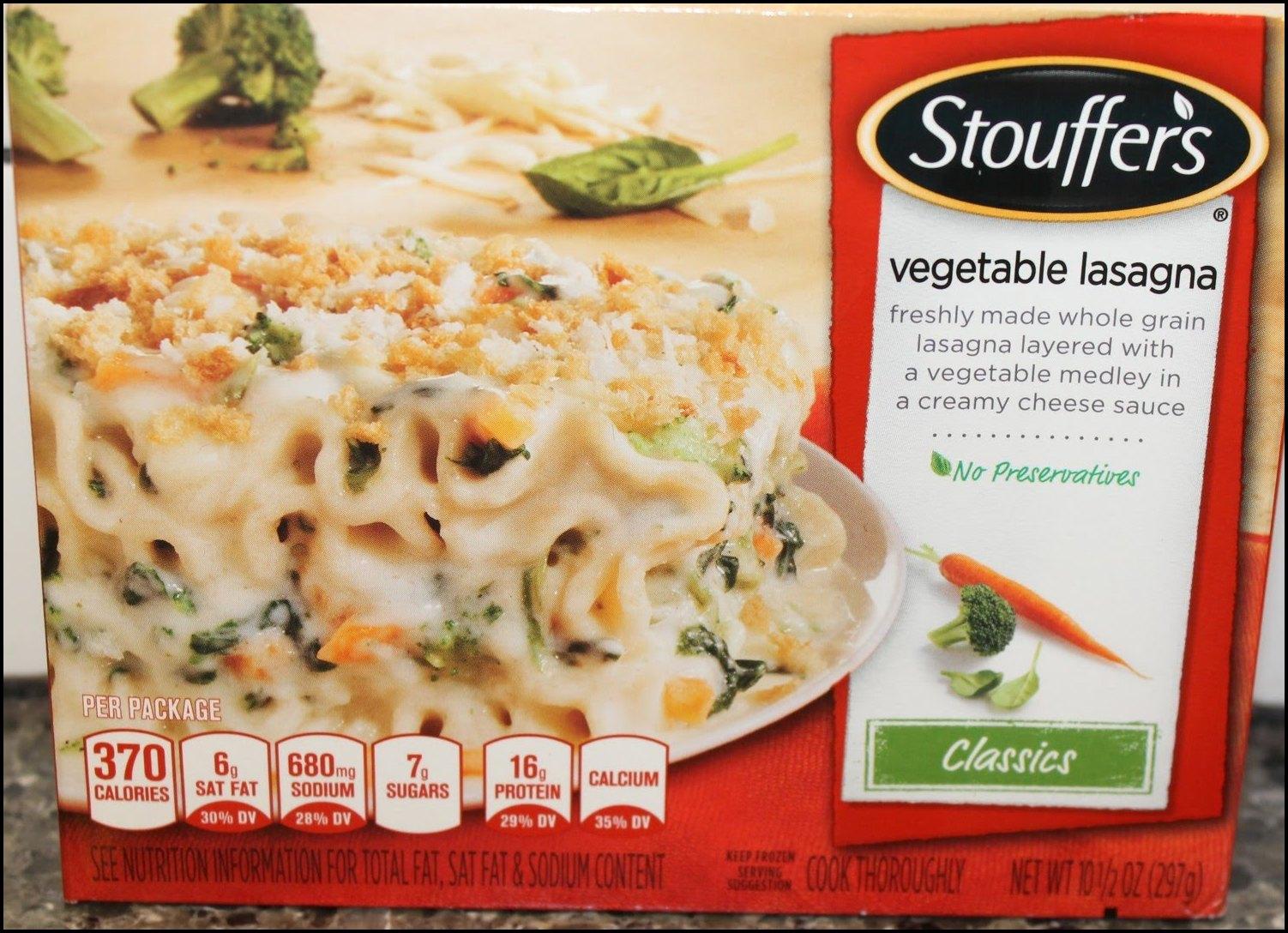 Stouffer's Vegetable Lasagna Recipe