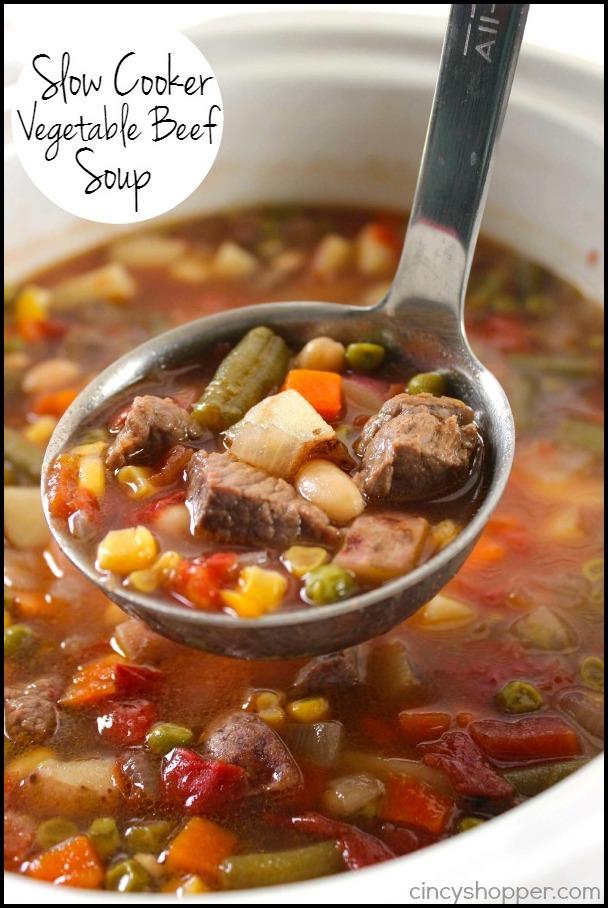Vegetable Beef Stew Crock Pot
