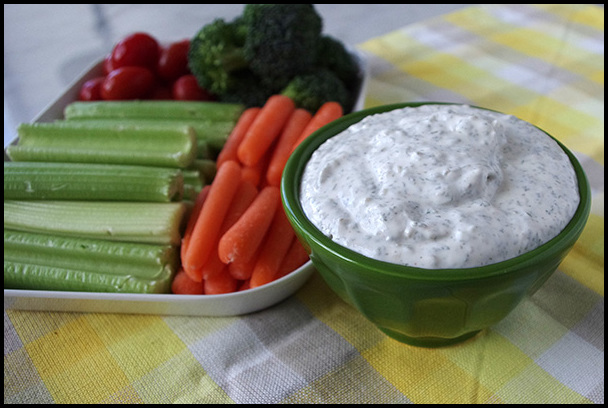 Vegetable Dip Sour Cream
