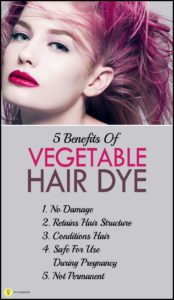 Vegetable Dye For Hair