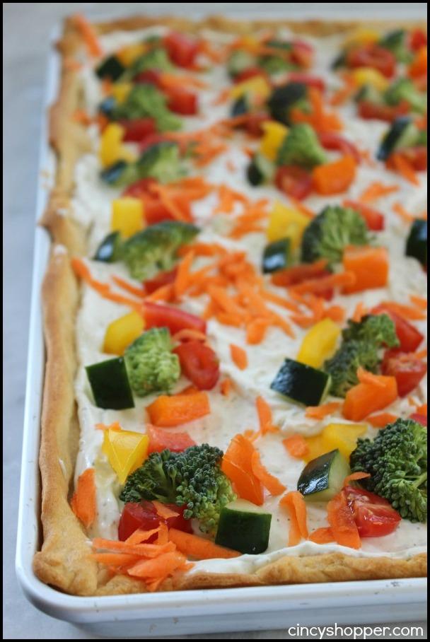 Vegetable Pizza Hidden Valley Ranch