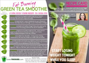 Vegetable Smoothie Weight Loss