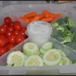 Vegetable Tray With Lid