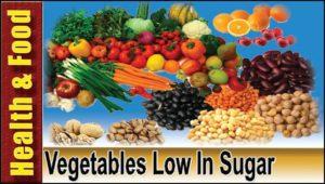 Vegetables Low In Sugar