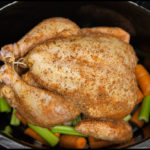 Whole Chicken Crock Pot With Vegetables