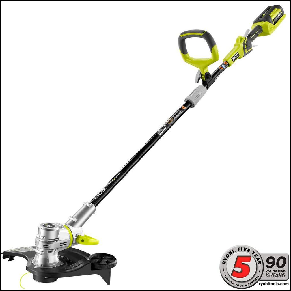 Home Depot Battery Weed Eater The Garden