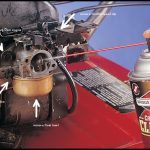 Lawn Mower Carb Cleaner