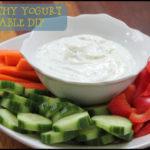 Healthy Dips For Vegetables