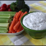 Vegetable Dip With Sour Cream